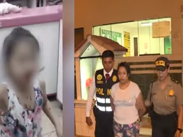 Mujer que agredió a su menor hija podría ser denunciada por violencia familiar y otros delitos