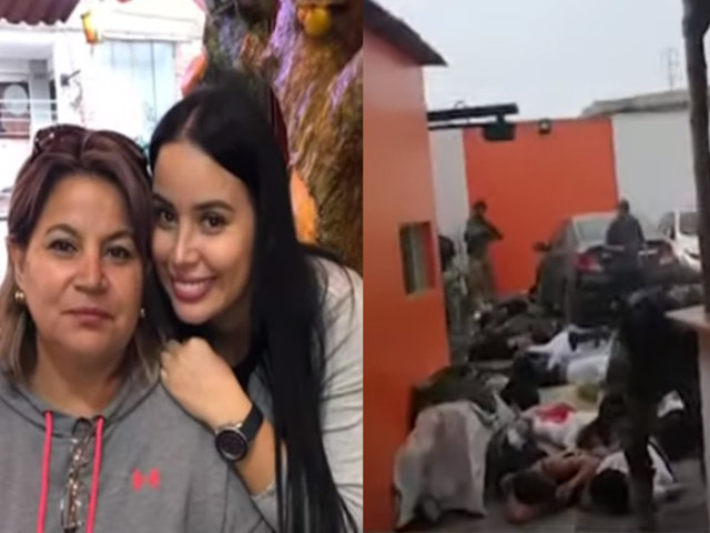 Declara la madre de la modelo colombiana expulsada tras operativo en Punta Negra