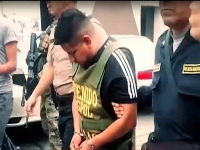 Capturan sicario que atacó Porsche de Gerald Oropeza para matarlo