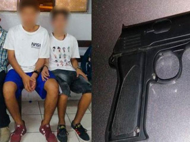 SJL: capturan a adolescentes que intentaron asaltar a un policía