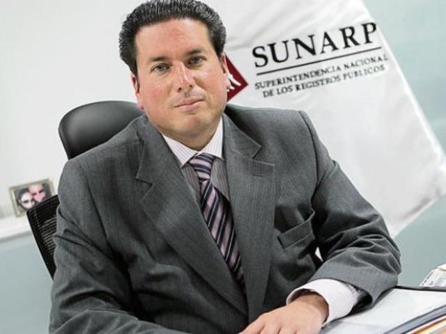 Exjefe de Sunarp es condenado a 6 años de cárcel por integrar red de Orellana