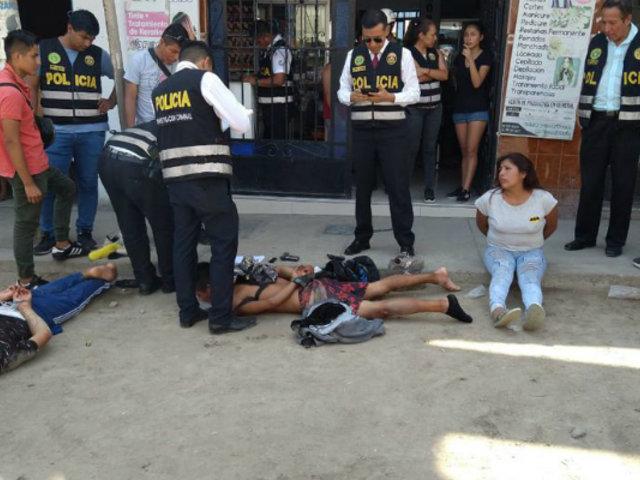 Puente Piedra: detienen a presuntos delincuentes que iban a asaltar banco