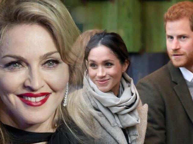 Madonna ofrece su departamento en Nueva York al príncipe Harry y Meghan Markle