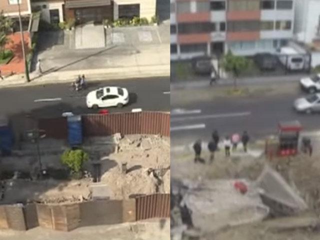 Grifos abandonados en Magdalena y Miraflores mantienen atemorizados a la población