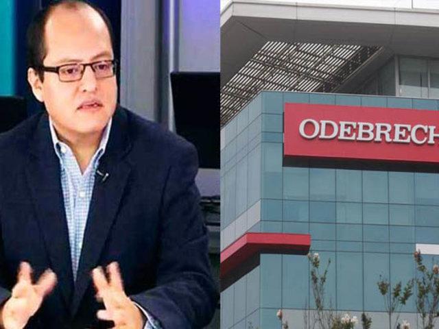 Víctor Quijada: Perú tiene argumentos para ganar demanda de Odebrecht