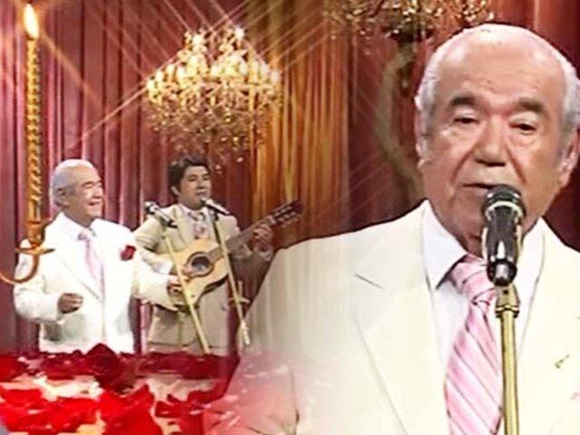 """Manuel Ortiz, voz de Los Morunos se despide de los escenarios en """"Porque hoy es sábado con Andrés"""""""
