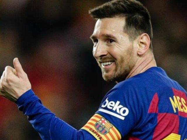Lionel Messi es elegido el mejor jugador de los últimos 25 años