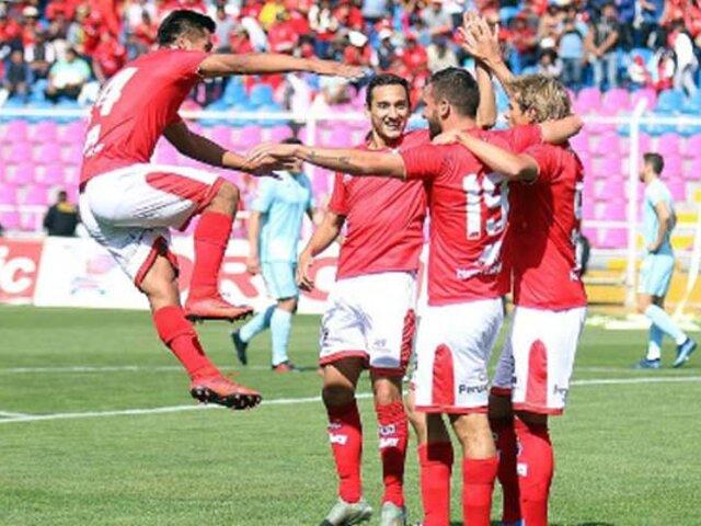 Cienciano vence por 4-0 a San Martín por la fecha 2 del Torneo Apertura