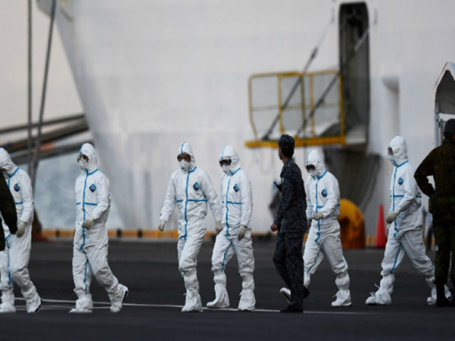 Japón: anuncian 65 nuevas infecciones por coronavirus en crucero