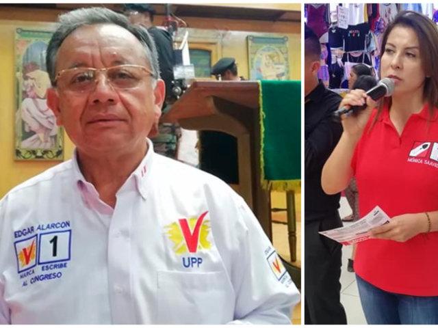 Peculado y falsa declaración: dos presuntos delitos que pesan en dos virtuales congresistas