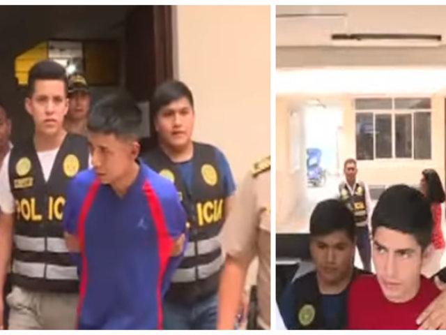 El Agustino: Policía detuvo a sujetos de 20 años acusados de extorsión, raqueteo y sicariato