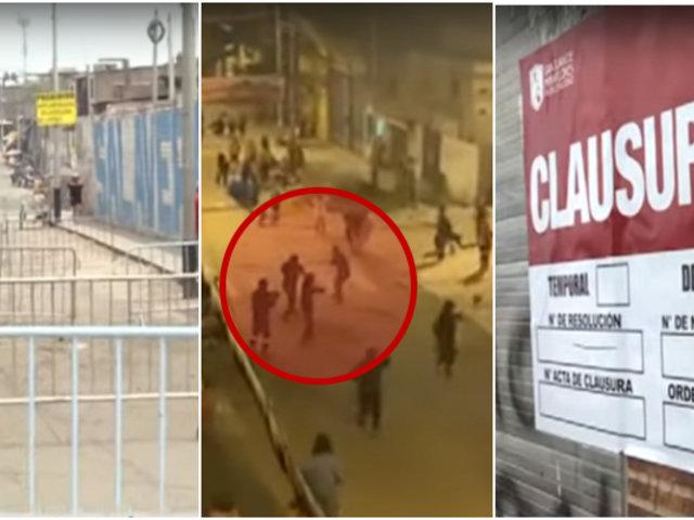 SJM: seis fiscalizadores heridos dejó operativo para erradicar ambulantes