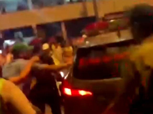 La Victoria: golpean a sujeto acusado de tocamientos indebidos a niñas