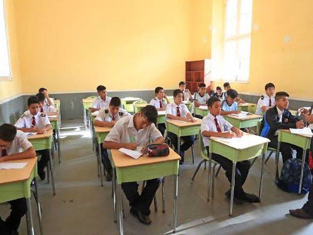 Minedu aplicaría evaluación con letras para todo secundaria desde este año
