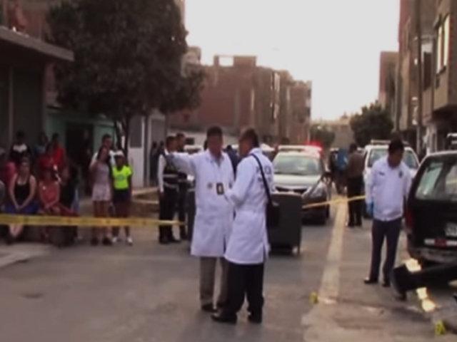 SMP: taxista fue asesinado a balazos en el frontis de su casa y en presencia de su menor hijo