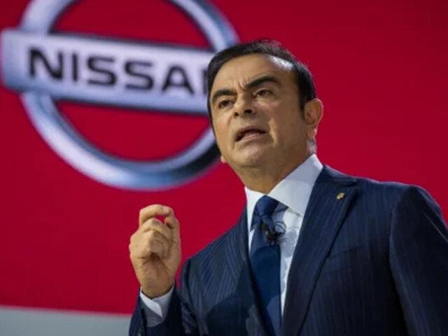 Carlos Ghosn: Nissan interpone una demanda por más de US$90 millones