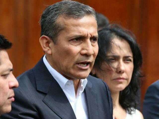 """Vela sobre caso Humala-Heredia: """"Calculamos que este año debería haber una sentencia"""""""