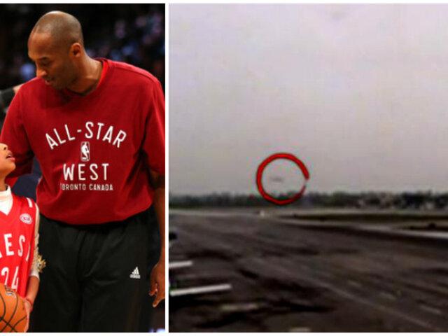 Kobe Bryant: nuevas imágenes del helicóptero salen a la luz