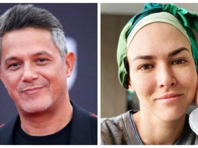 Alejandro Sanz envió aliento para Anahí de Cárdenas y así le respondió ella