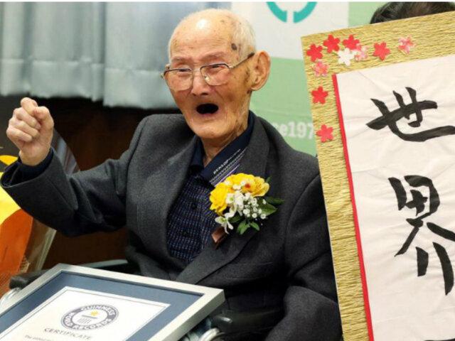 Récord Guinness: japonés es considerado la persona más longeva del mundo