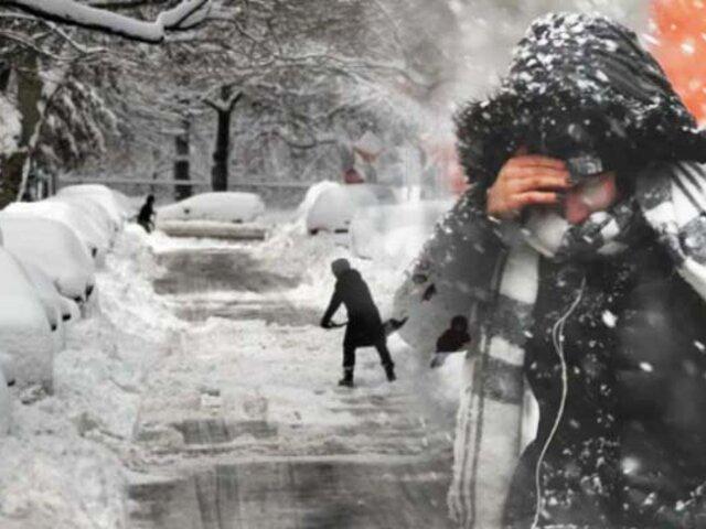 EEUU: tormenta invernal azota Minesota y Dakota del Norte
