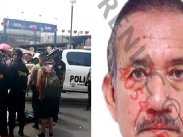 PNP tendría imágenes que ayudarían a identificar a autores de atentado contra expolicía en Plaza Norte