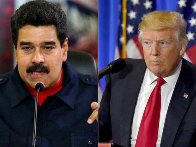 """Maduro arremete contra Trump: """"Eres un miserable, racista y supremacista"""""""