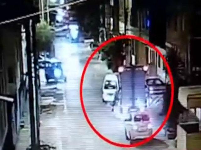 Extranjeros estarían detrás de intento de robo de camión en SMP
