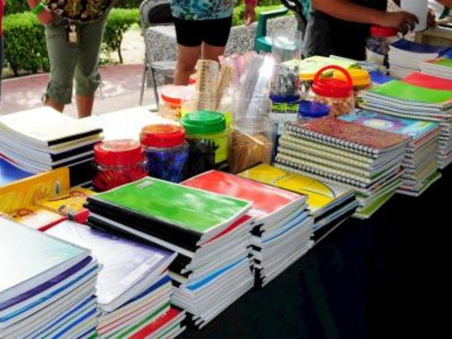 Año escolar 2020: sepa qué productos no deben exigirse en la lista de útiles