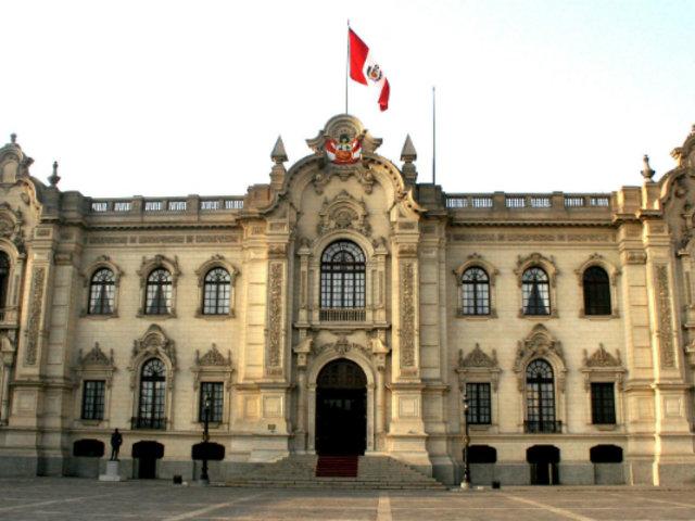Gobierno aprueba que presentación de declaración jurada de intereses será obligatoria