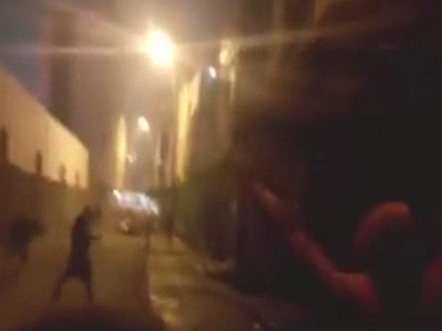 Chorrilos: vecinos aterrados tras balacera protagonizada por barristas