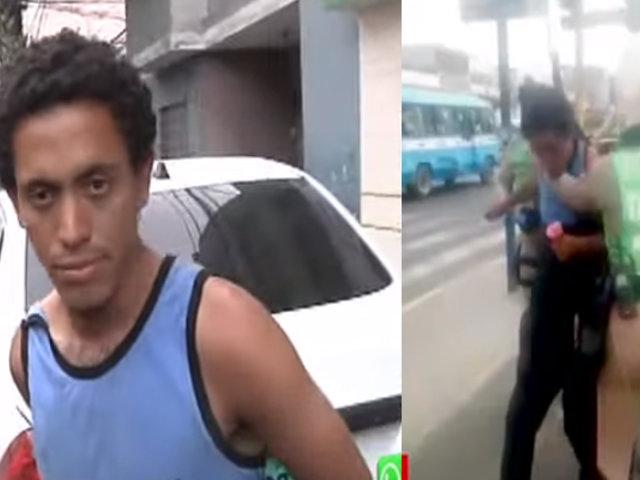SMP: capturan a sujeto que intentó secuestrar a niña de ocho años
