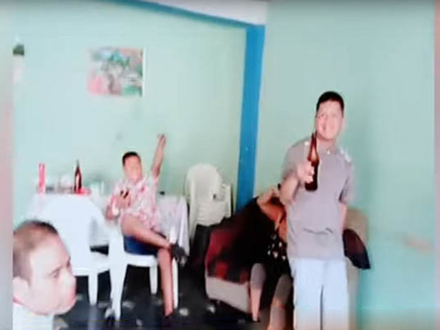 Trujillo: banda criminal cae por transmitir en vivo su fiesta