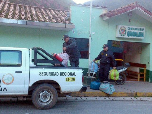 Reportan muerte de sujeto detenido al interior de celda de comisaría en Cusco