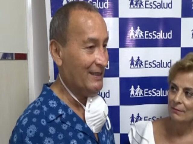 ¡Conmovedor! Brasileña dona riñón a su esposo peruano y lo salva de morir