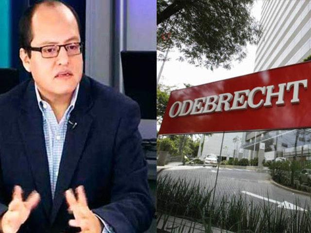 Víctor Quijada: Procurador no puede coordinar una reunión con Odebrecht