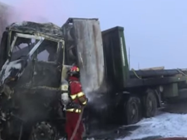 Punta Hermosa: camiones se incendian tras chocar en la Panamericana Sur