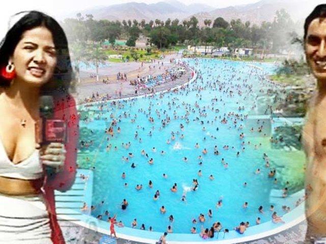 "La Movida de la Wawita llegó a la piscina más grande del Perú en el ""club Huiracocha"""