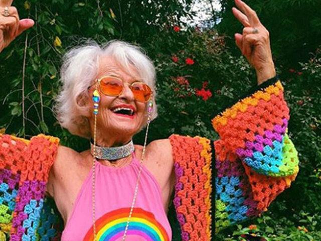 """Baddie Winkle, """"la abuela influencer"""" más famosa del mundo"""