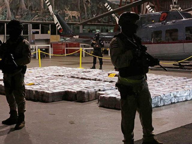 Costa Rica realiza la mayor incautación de droga de toda su historia