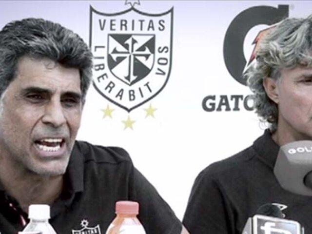 EXCLUSIVO | Álvaro Barco arremetió contra el arbitraje tras derrota de San Martín