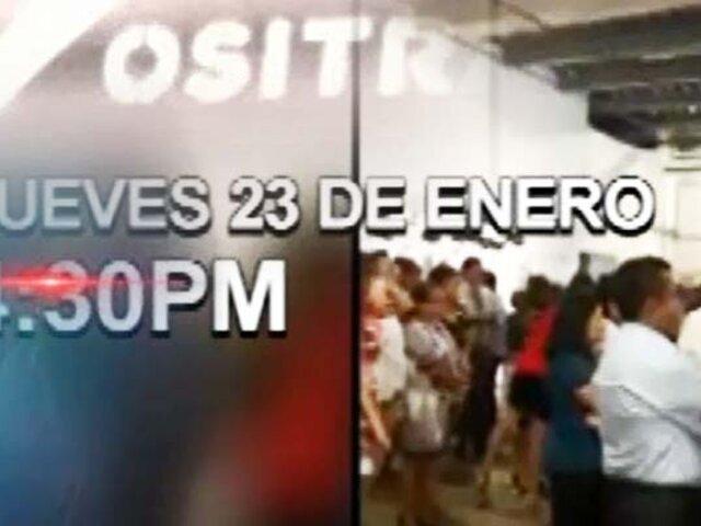 Exclusivo | ¿No hubo conciencia? Ositran celebró evento el mismo día de la tragedia en Villa El Salvador