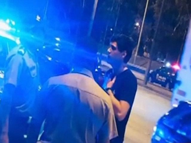 """Joven que atropelló a motorista: """"no importa lo que haya hecho, mi papá me va a ayudar"""""""