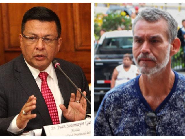 Juan Sotomayor y Víctor Albrecht: hoy retoman audiencia de prisión preventiva