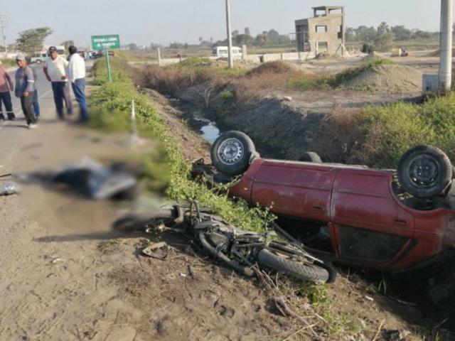 Lambayeque: múltiple choque dejó dos fallecidos y varios heridos