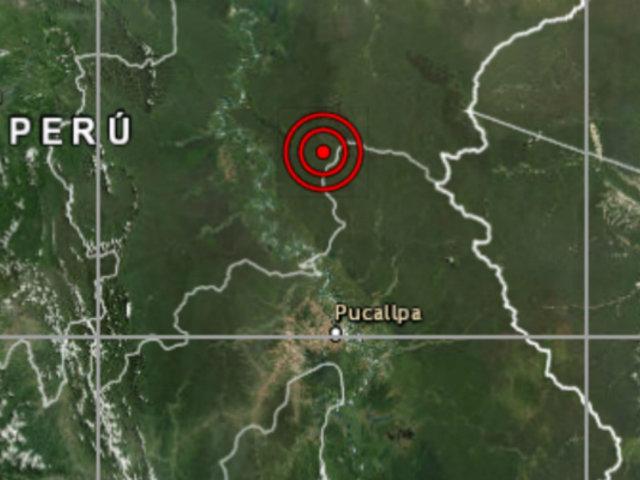 Sismo de magnitud 5.0 se registró esta tarde en Loreto