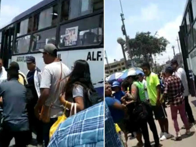 SJM: delincuentes disparan contra pasajero de bus que se resistió a robo