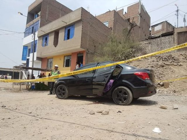 Sicarios asesinan a balazos a una pareja en Carabayllo
