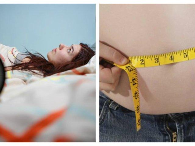 ¿Duermes mal? Podrías estar subiendo hasta 1 kilo por semana