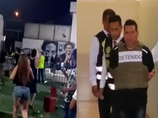 """Capturan a integrante de la banda criminal """"Los malditos de Bayovar"""" durante concierto en SJL"""